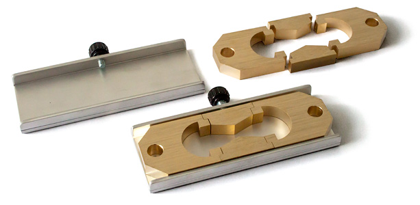LAB-100-731: ductility form made in brass, LAB-100-732: form storage