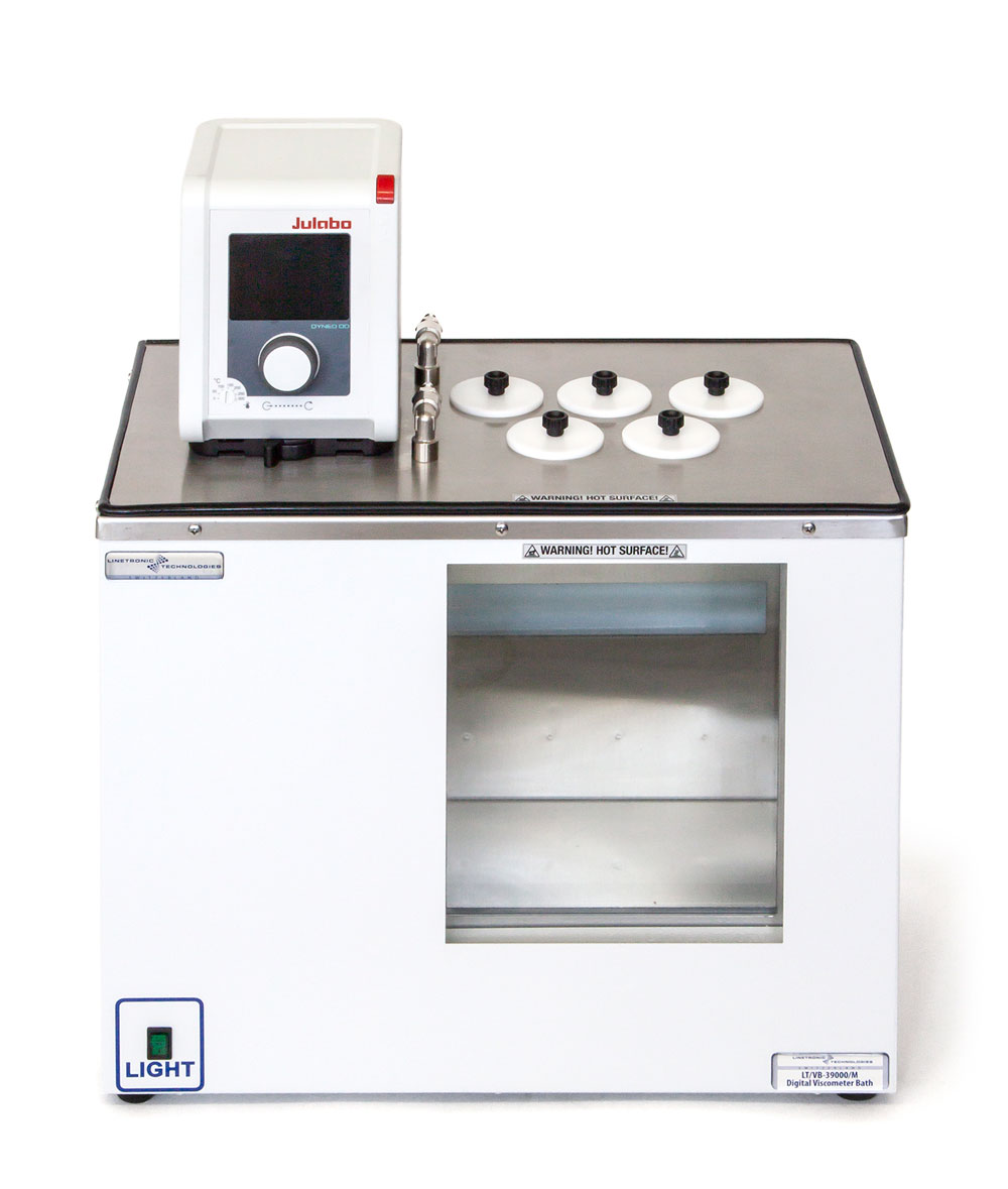 LT/VB-39000/M: 5 Places Digital Viscometer Bath