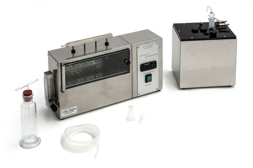 LT/SC-208000/M + LAB-102-080: Oil and Solvent in Wax